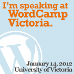Word Camp Victoria 2012 Presentation: disclosures, attribution and copyright