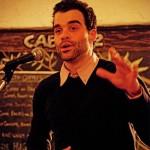 Jeremy Loveday, performance poet and community organizer