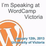 Word Camp Victoria 2013 Presentation: Blogging to Build Community, Online and Off