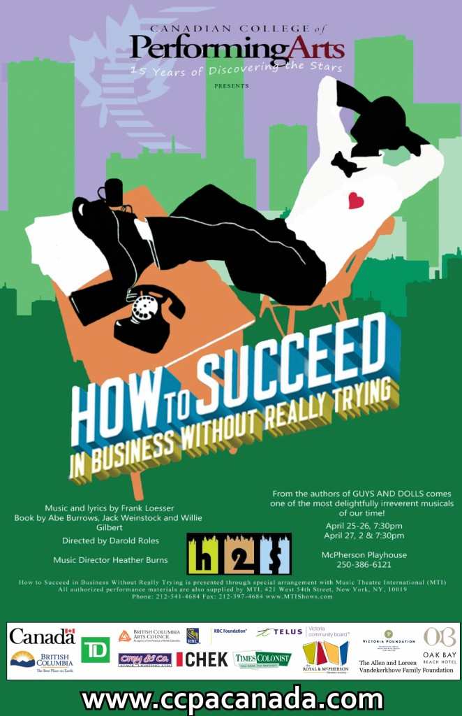 How to Succeed in Business CCPA April 2013
