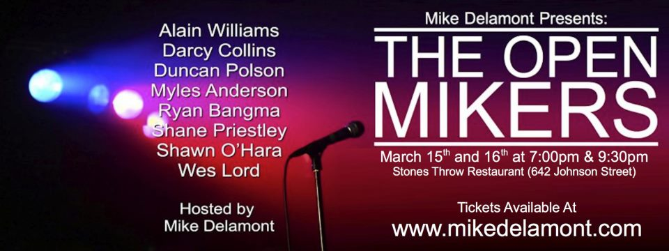Mike Delamont Presents THE OPEN MIKERS last version