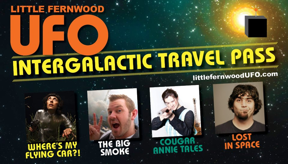UFO intergalactic travel pass 2013