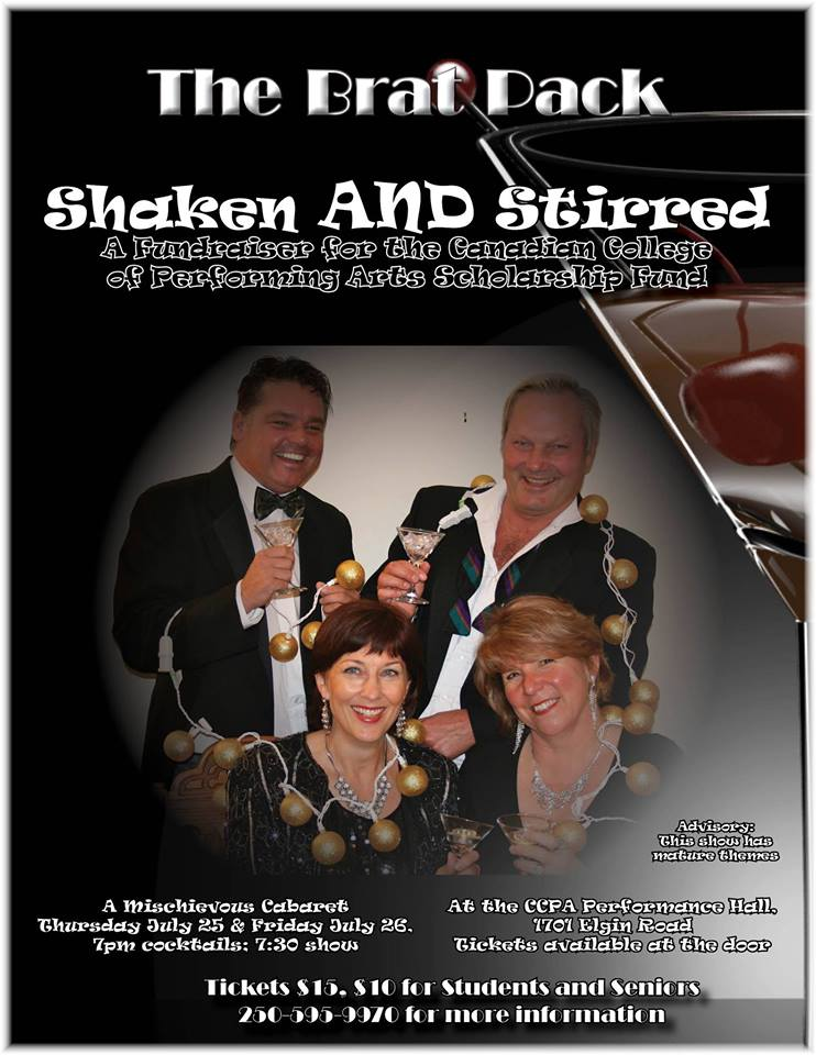 the Brat Pack Shaken and Stirred July 2013
