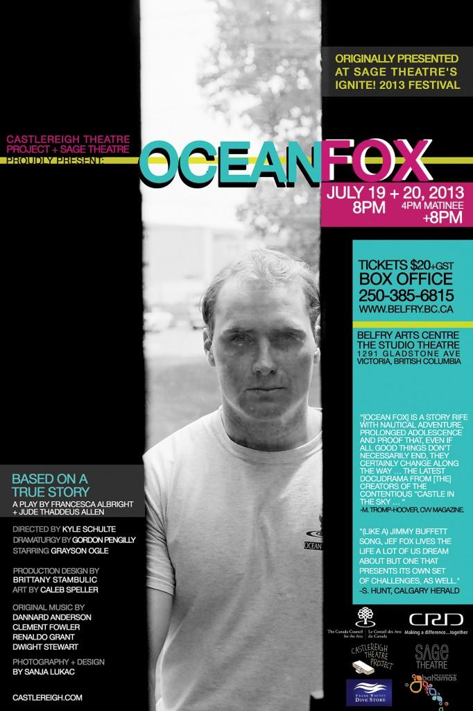 Ocean Fox Poster 4x6 Final Web