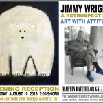 Jimmy Wright A Retrospective: Art with Attitude