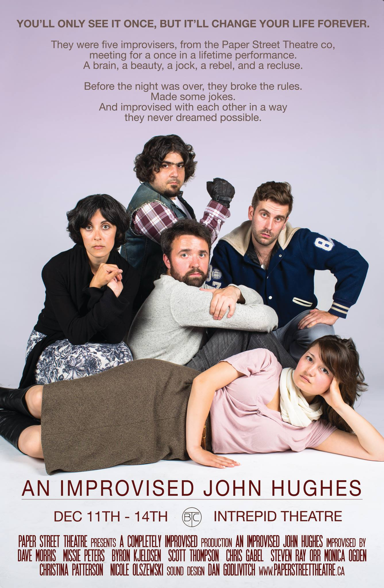 An Improvised John Hughes Dec 2013