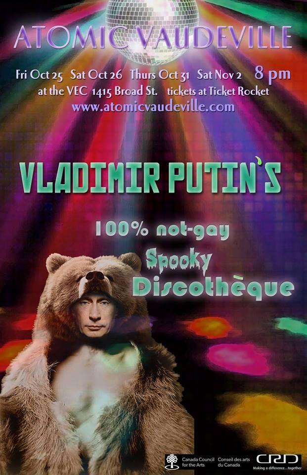 Atomic Vaudeville Halloween Show Oct 2013