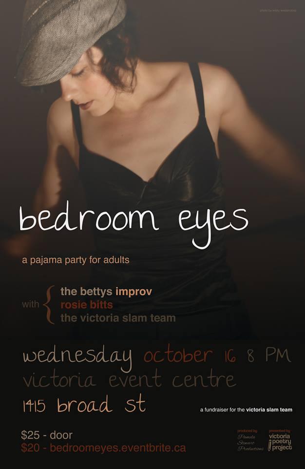 Bedroom Eyes Vic Slam Team Oct 2013