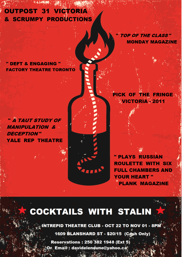Cocktails with Staline