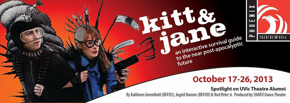 Kitt and Jane Phoenix Theatre Oct 2013