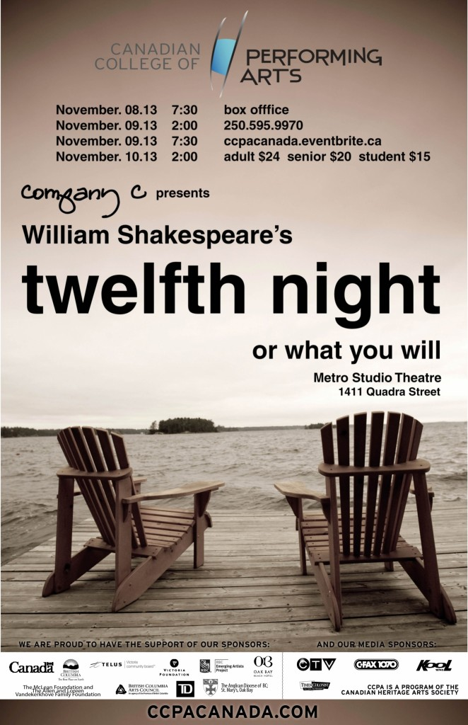 Twelfth Night Company C Nov 2013