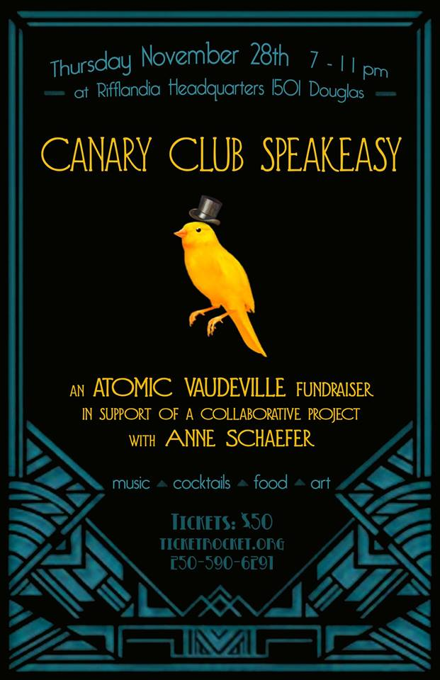 Atomic Vaudeville Canary Club Speakeasy Nov 2013