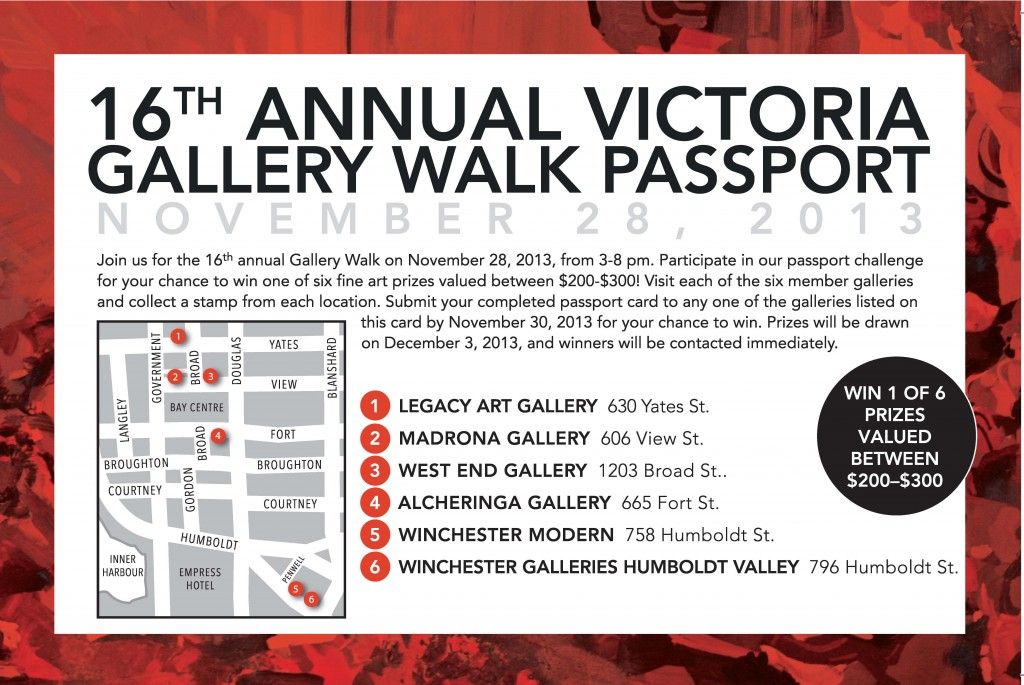 Gallery Walk Passport 2013 trimmed 16th annual