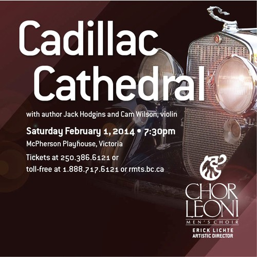 Cadillac Cathedral with Chor Leoni Feb 1 2014