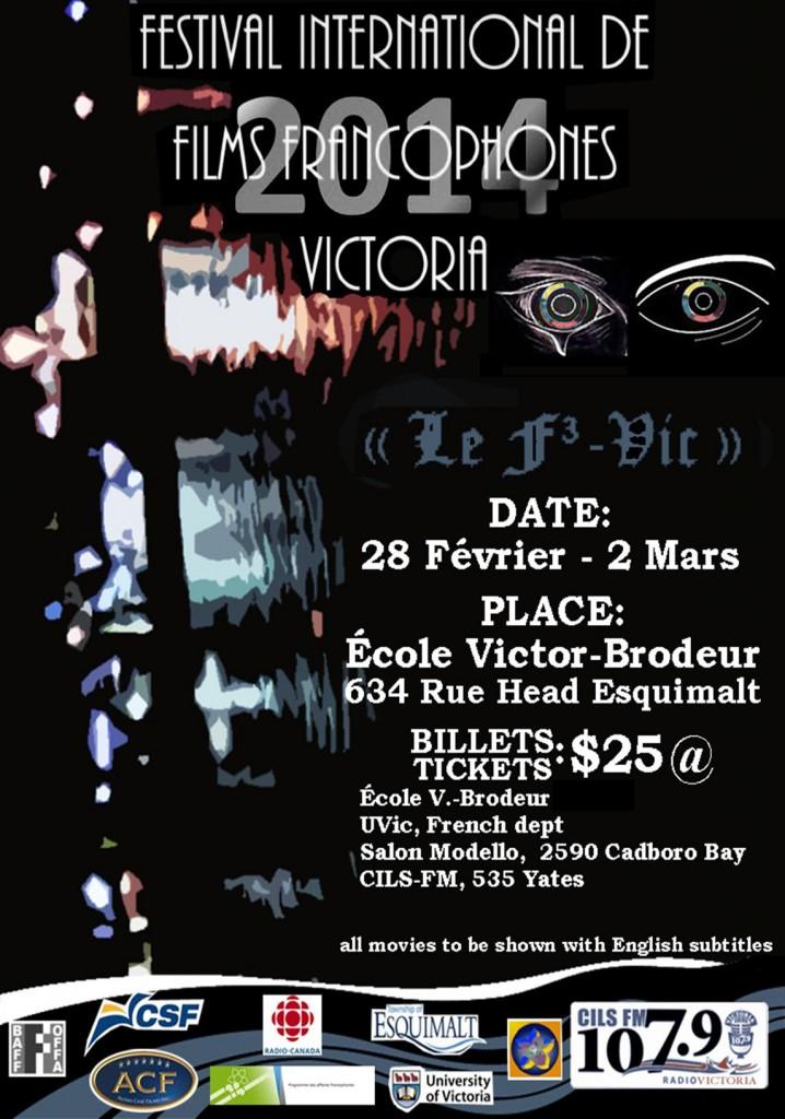 Festival International de Film Francophones Victoria Feb 2014