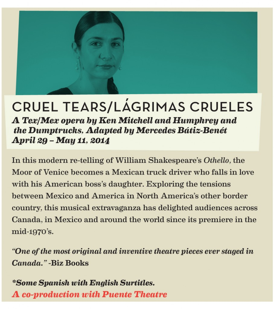 Lágrimas Crueles Cruel-Tears Blue Bridge 2014
