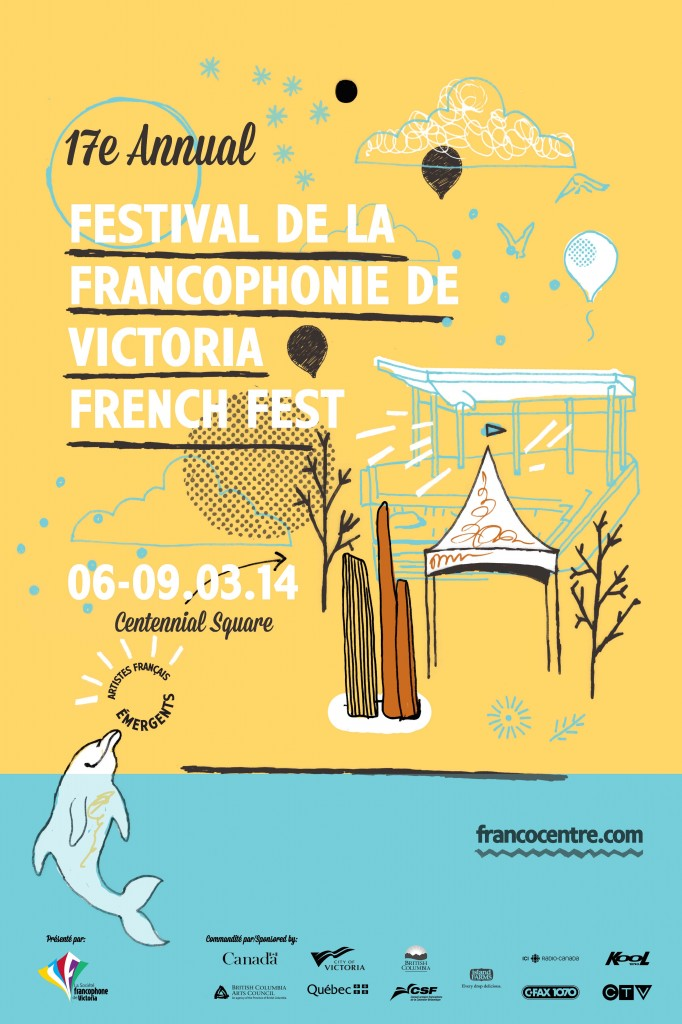 Victoria French Fest 2014 poster