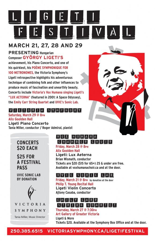 Ligeti Festival Victoria BC