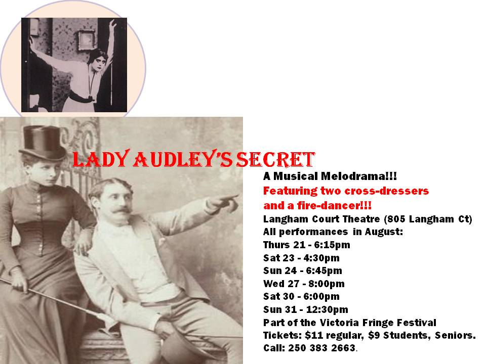 Lady Audleys Secret Victoria Fringe 2014