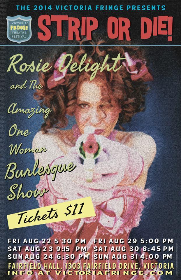 Rosie Delight Victoria Fringe 2014