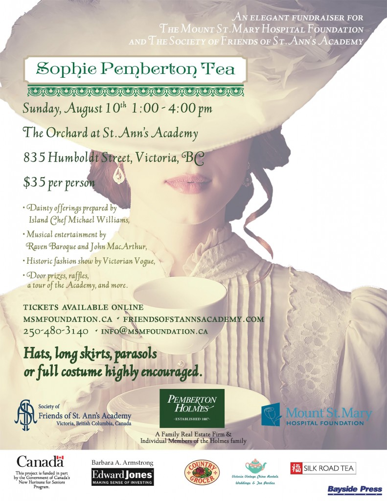 Sophie Pemberton Tea August 10th 2014