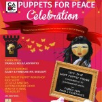 Pacific Northwest Puppetry Festival and Puppets for Peace Celebration September 19-21, 2014. Victoria BC.
