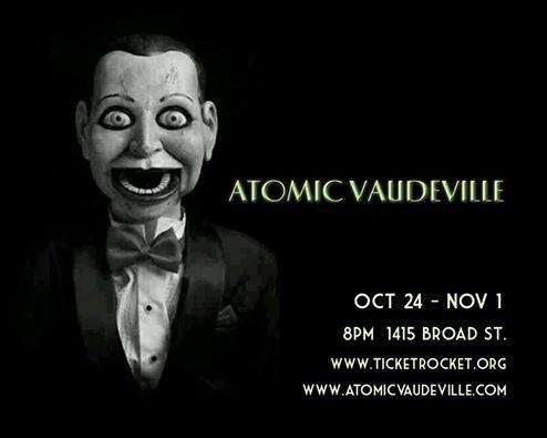 Atomic Vaudeville Halloweeen Cabaret 2014