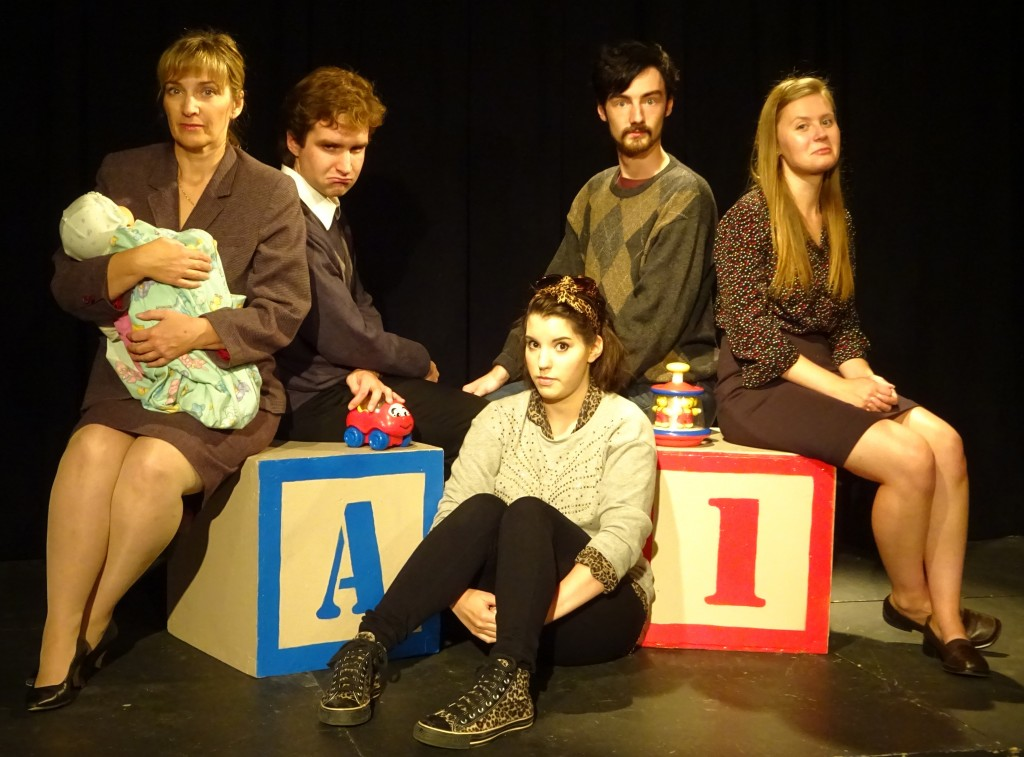Baby With the Bathwater by Christopher Durang at Theatre Inconnu Oct 2-18, 2014. Victoria BC.
