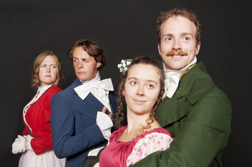 Pride and Prejudice at Langham Court Theatre October 2014.