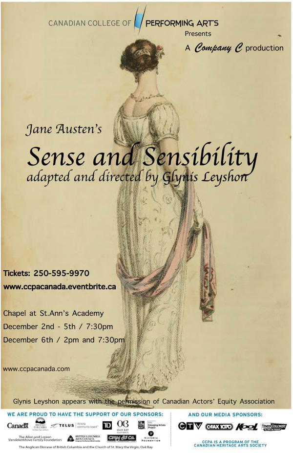 Sense and Sensibility poster December 2014