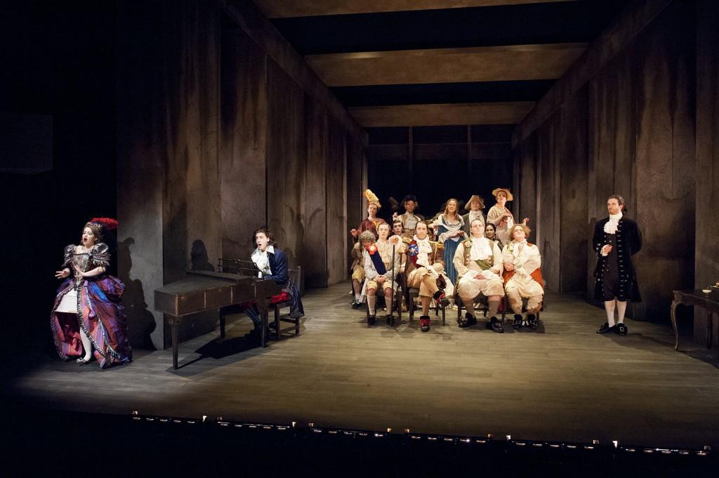 Amadeus at the Opera. UVic Phoenix March 2015