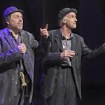 Estragon and Vladimir Waiting for Godot March 2015
