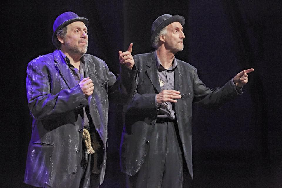 Estragon and Vladimir Waiting for Godot March 2015
