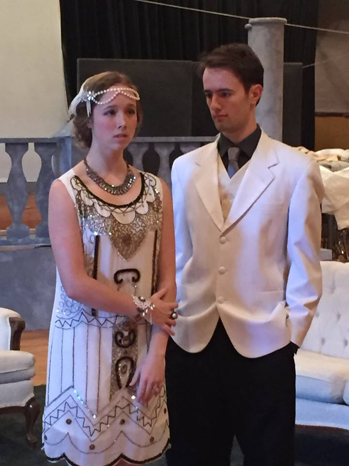 Daisy and Gatsby The Great Gatsby December 2015
