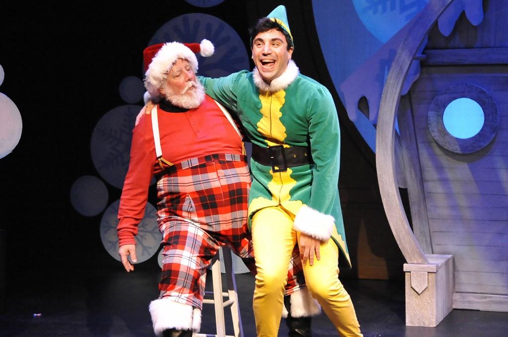 Santa and Buddy Elf the Musical CHemainus