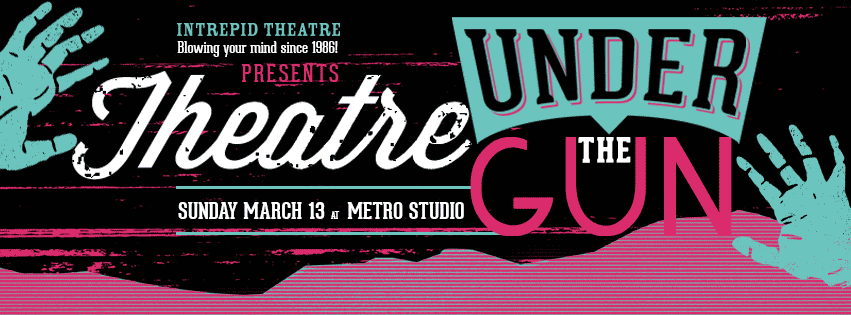Theatre Under the Gun March 2016 logo
