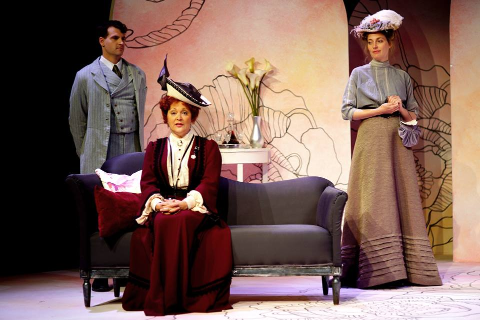 Earnest Lady Bracknell Jack and Gwendolen BBRT July 2016