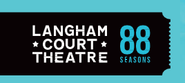 Langham Court Theatre 88 seasons logo
