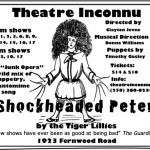 Shockheaded Peter at Theatre Inconnu November 30-December 17 2016 a review.