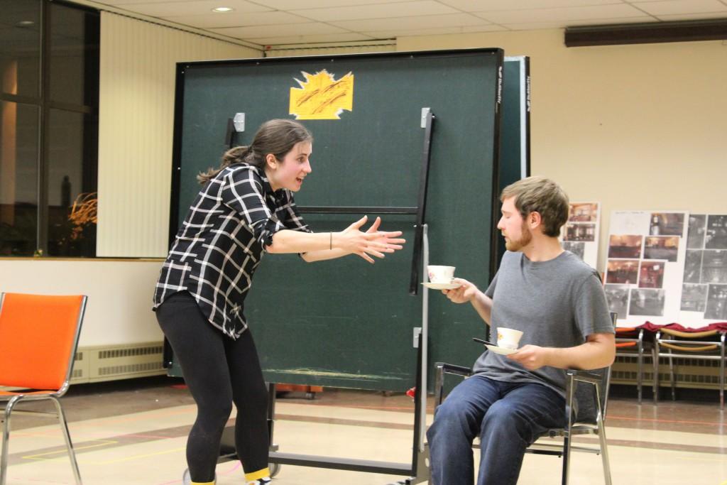 Ruddigore rehearsal