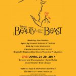 Disney's Beauty and the Beast by The Canadian College of Performing Arts April 21-29, 2017. A review.
