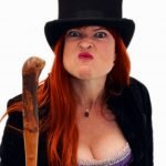 Olive Copperbottom by Penny Ashton. Victoria Fringe 2017. An interview.