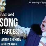 Swan Song and Other Farces at Blue Bridge Repertory Theatre. An interview.
