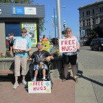 International Free Hugs Day 2011 Victoria BC