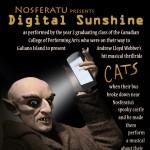 "Atomic Vaudeville and CCPA present ""Digital Sunshine"""