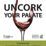 Uncork Your Palate, fundraiser for the Victoria Conservatory of Music, April 26th