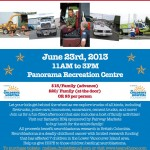 2nd Annual Touch a Truck fundraiser for Neuroblastoma Research, June 23 2013