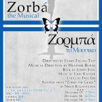 Company C presents Zorba the Musical December 13-15, 2013