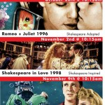 Shakespeare in Film a fundraiser for The Greater Victoria Shakespeare Festival