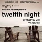 Twelfth Night by Company C – win tickets